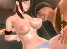 Cartoon Boobs Sucking: 3d Hentai Babe